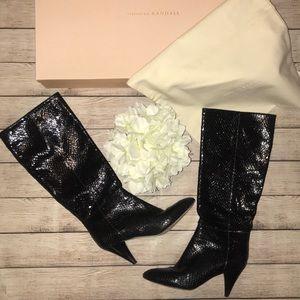 Loeffler Randall Astrid Black Boots with Box
